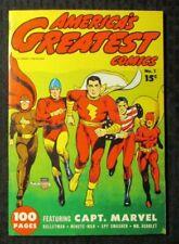 1970s FLASHBACK #25 FVF 7.0 Reprint America's Greatest Comics #1 Captain Marvel