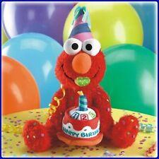 Fisher-Price Sesame Street Singing Birthday ELMO Sings Birthday Song NEW