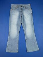 Levis 525 W33 tg 47 jeans donna usato bootcut zampa flared vintage loose T6644