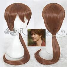 Rurouni Kenshin- HIMURA KENSHIN Movie Light Brown cosplay anime Wig
