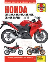 HONDA SHOP MANUAL SERVICE REPAIR CBR 300 250 125 HAYNES CHILTON CLYMER BOOK