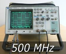 HP / Agilent 54616B 2-channel 2 GSa/s 500 MHz Oscilloscope + Probes. Very clean
