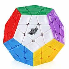 Cyclone Boys 3x3 Megaminx Stickerless Speed Cube Dodecahedron Magic Cube Puzzle