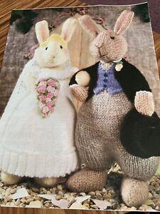 Alan Dart - Just Married Knitting Pattern