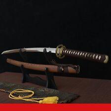 japanese Katana sword forged t10 clay tempered blade real hamon sword sharp