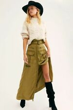 NWD Women's Free People The Feeling Of Falling Utility Skirt  Msrp 168 usd