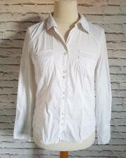 Bonita White Fitted Shirt Blouse Women UK 10 EUR 38