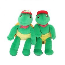 JEMINI - LOT DE 2 - Peluches doudous Tortue FRANKLIN - 32 cm