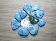 Bisbee Turquoise, Natural, Free Form Cab. 106 TCW.