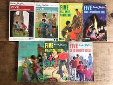 Enid Blyton THE FAMOUS FIVE x78 1970's pbk