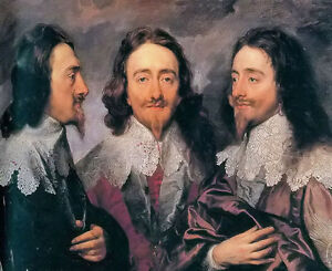 Oil painting Anthony van dyck - King Charles I free shipping for all customers