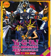 Anime DVD Yu Gi Oh ! Duel Monsters ( Vol.1-224 End ) + Movie + Free Anime