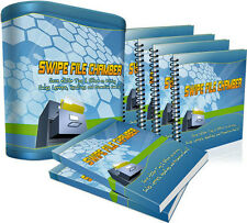 Save Time & Effort Writing Sales Letters & Headlines With SWIPE FILE CHAMBER (CD