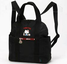 Hello Kitty x LeSportsac 45th Anniv. 2Way Backpack DOUBLE TROUBLE From Japan EMS