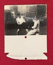 Antique Circa 1927 Babe Ruth Boxing Mutoscope Photo Early NY Yankees Baseball