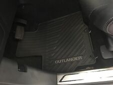 Mitsubishi Outlander GENUINE OEM ALL WEATHER RUBBER Floor Mats MZ314739 NEW!