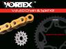 Honda CBR500 13-18 Vortex 520 Chain and Sprocket Kit 15-41 Tooth CKG2271