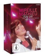 MIREILLE MATHIEU - LIEBE LEBT: DAS BESTE VON MIREILLE MATHIEU 3 DVD-AUDIO NEU