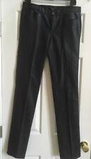 Theory Theyskens' Black Straight Skinny Leg Pants Size 27 A0219