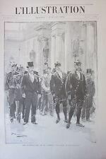 SPECIAL FUNERAILLES DU PRESIDENT REPUBLIQUE CARNOT GRAVURE L ILLUSTRATION 1894