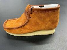 Clarks Originals Wallabee Boot 26154818 Tan Hairy Suede 2020 Brand New