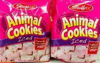 2Pk Stauffers Iced Animal Crackers 16 Oz *~* FAST FREE SHIPPING ! *~*