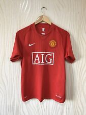 MANCHESTER UNITED 2007 2009 HOME FOOTBALL SHIRT JERSEY NIKE 237924-666 ROONEY
