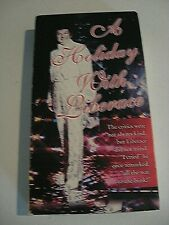 A Holiday With Liberace VHS Christmas George And The Orchestra