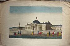 Paris, l'école Militaire : Vue d'optique début 19 éme