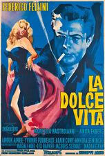 "20x30"" CANVAS Decor.Room design art print.Federico Fellini film Dolce Vita.6083"