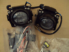 FRONT CAR FOG LIGHTS & WIRING LOOM & SWITCH - MADE IN JAPAN - HIGH QUALITY - NEW