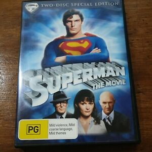 Superman The Movie DVD R4 Like New! FREE POST