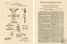 Thomson Arc Welder US PATENT Art Print READY TO FRAME!!  Vintage 1886 Electric