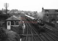 PHOTO  BR LOCO 80061 AT CALLENDER ON 30TH MARCH 1964 (3)