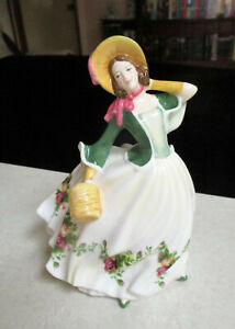 """ROYAL ALBERT 100 Years Figurine  """"Rose""""  Boxed - Excellent Cond."""