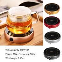 220V 20W Electric Desktop Tea Coffee Warmer Heater Cup Mug Warming Trays Mat
