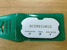 Crown Verde Bowling Tasca punteggio Checker Hand Held