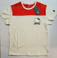 Converse x Hello Kitty Football Jersey T-Shirt Limited Edition Women's S M L NWT