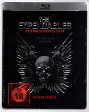 THE EXPENDABLES 1 DIRECTOR'S CUT BLU-RAY STEELBOOK NEU & OVP SEALED SOLD OUT