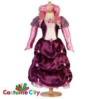 Childs Girls Deluxe Damson Duchess Renaissance Tudor Fancy Dress Party Costume