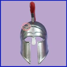 Unique Christmas Gifts Medieval Greek Corinthian Helmet With Red Plume