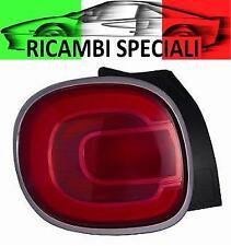 FANALE STOP GRUPPO OTTICO POSTERIORE DX FIAT 500L DAL 09/2012 -> CROMATO