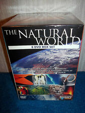 THE NATURAL WORLD - ICE-AGE, OCEANS, RAINFORESTS - 8 DISC DVD SET - NEW & SEALED