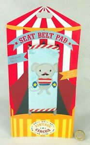 Child Seat Belt Pad Plush Soft Helps Sleep Ideal for Booster Circus Mouse Cute