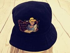 "DISNEY STORE velvet Hat Cinderella ""and all their dreams came true"" vintage"