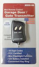 Multi-Code 10 Pins Mini Remote Control Garage Gate Door Opener Transmitter