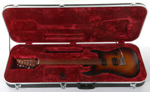 Ibanez Prestige AZ2402 Electric Guitar - Tri Burst Fade Flat