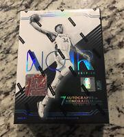 Panini NOIR Basketball 2019-20 1st Off the Line SEALED FOTL Hobby Box