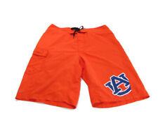 Columbia Men's Size S Orange Omni Shade NCAA Auburn Tigers Pocket Boardshorts