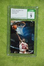 1993-94 Topps Stadium Club Michael Jordan #1 Triple Double CSG 9 MT